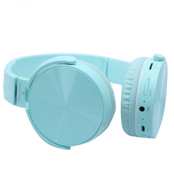هدفون بی سیم مدل P36 رنگ آبی
