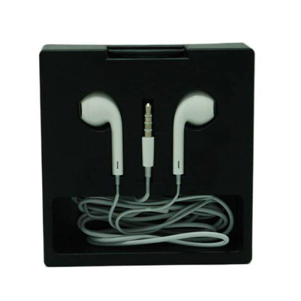 هندزفری طرح آیفون جعبه ای کیفیت صدا فوق العاده M80