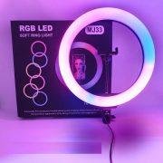 رینگ لایت MJ33 RGB