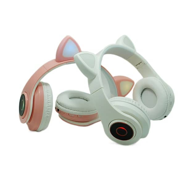 هدفون خرگوشی LED دار مدل CAT EAR کیفیت بالا