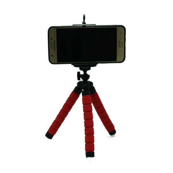 سه پایه عکاسی قرمز