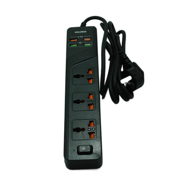 شارژر فست USB چندراهی برق کلومن C2