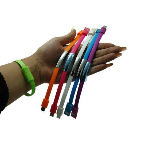 کابل پاوربانکی دستبندشو رنگی